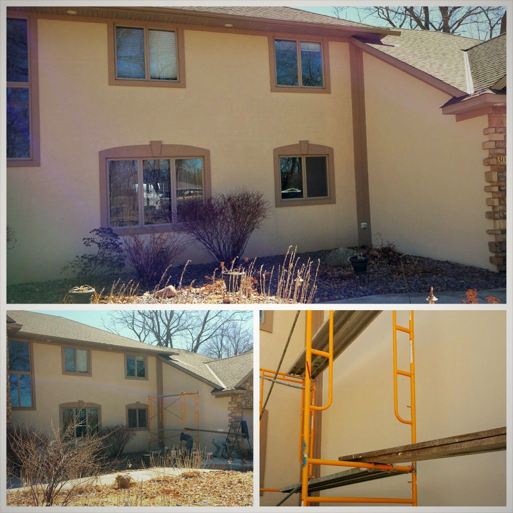 Stucco Refinish.