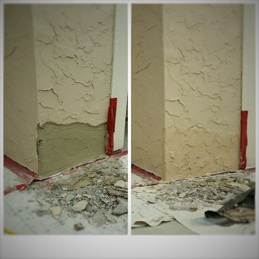 Stucco patch and repair