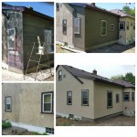 Stucco addition and refinish.