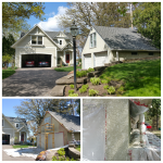 Garage repairs and refinish (House color match)