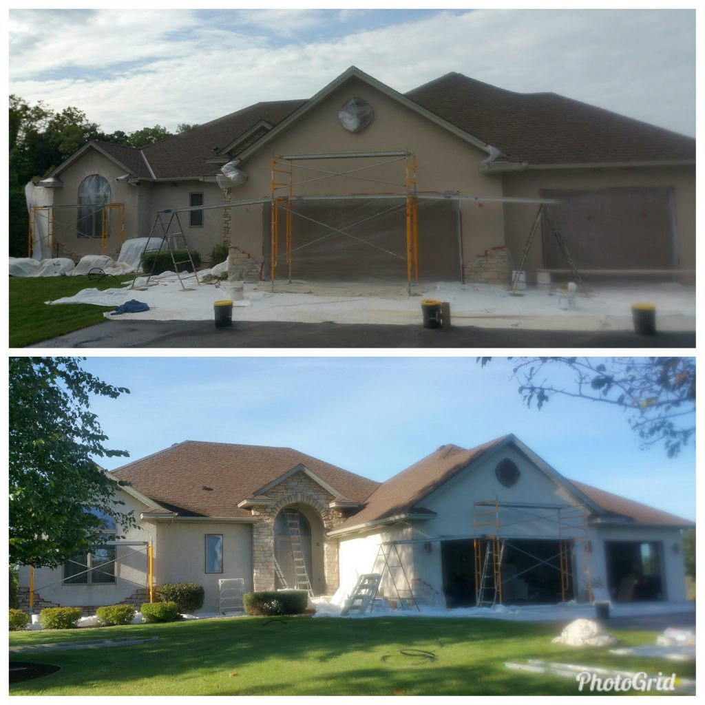 Stucco Refinish or Re-stucco